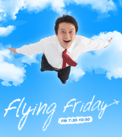 Flying friday