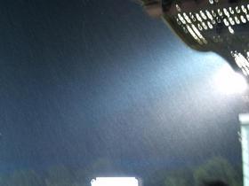 とにかくすごい雨!